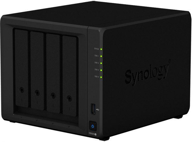 Synology DS920+ NAS Box