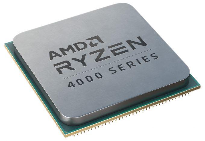 AMD Ryzen 4000 G-Series Chip Shot