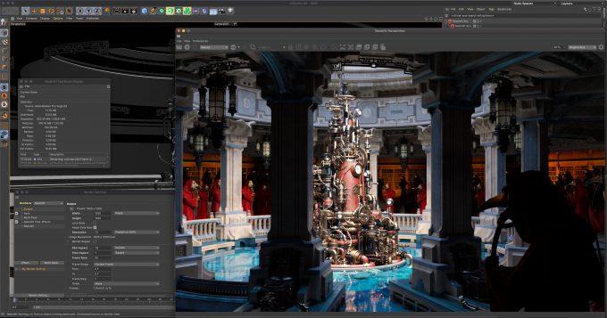 Redshift in Cinema 4D (macOS)