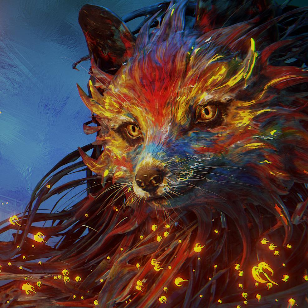 Blender - Splash Fox Thumbnail