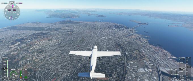 Microsoft Flight Simulator (2020) San Francisco USA