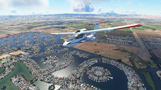 Microsoft Flight Simulator (Day Flight)