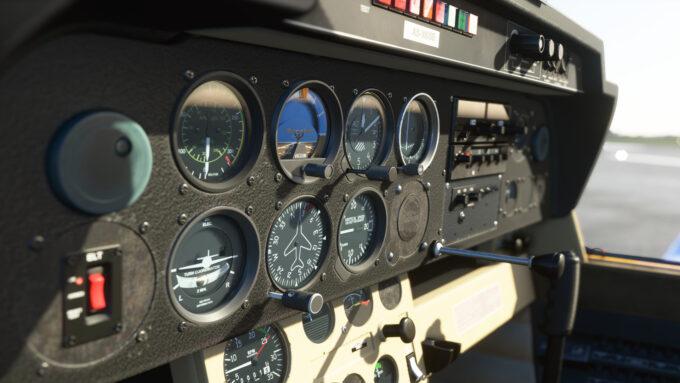 Microsoft Flight Simulator (Instrument Panel)