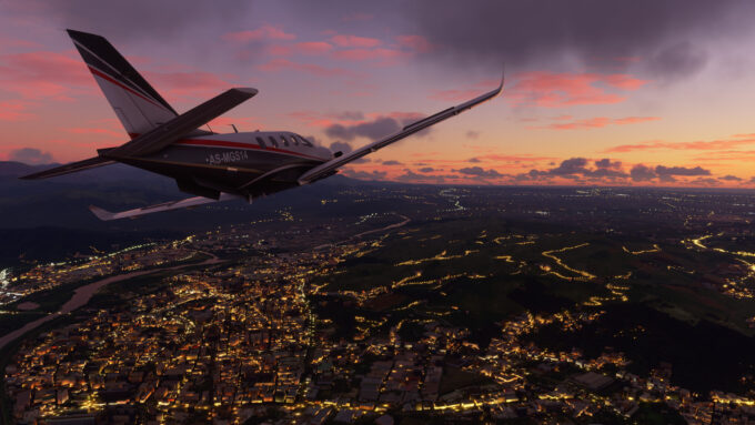 Microsoft Flight Simulator (Night Flight)