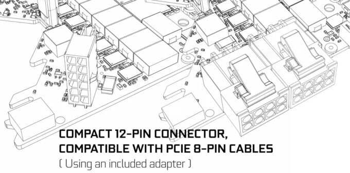 NVIDIA 12-pin Power Connector Schematic