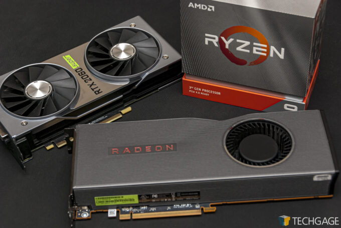 AMD's Radeon RX 5700 XT and Ryzen 9 3900XT With NVIDIA's GeForce RTX 2060 SUPER