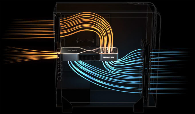 NVIDIA Ampere GeForce Airflow