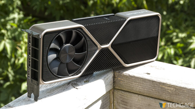 NVIDIA GeForce RTX 3080 Founders Edition - Outdoor Angled Shot