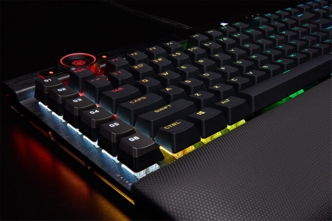 Corsair K100 RGB Gaming Keyboard - Control Wheel