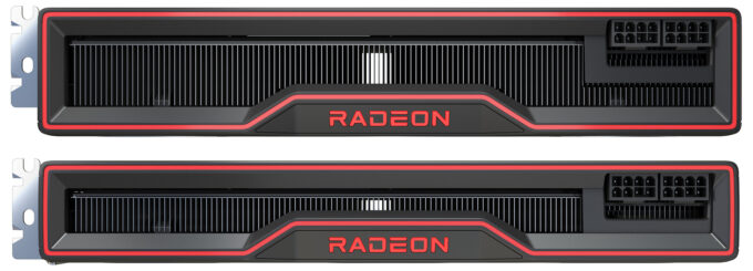 AMD Radeon RX 6800 Series - Top View
