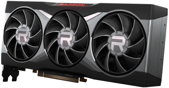 AMD Radeon RX 6800 XT - Angle View