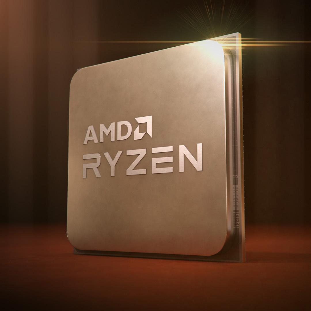 AMD Ryzen 5000 Series - Promo Shot Square