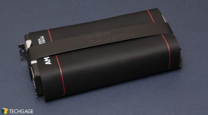 AMD Radeon RX 6900 XT - Mousepad Wrapping