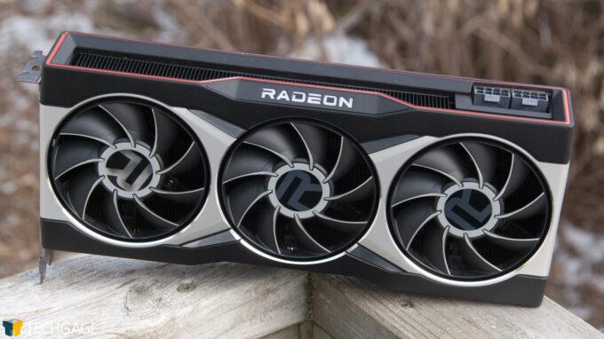 AMD Radeon RX 6900 XT - Outdoor Shot