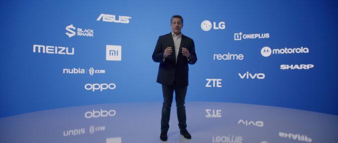 Alex Katouzian with Snapdragon 888 Phone Brands