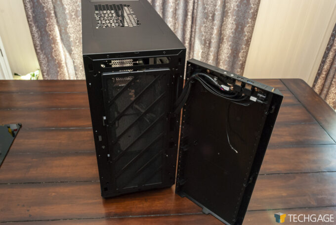 InWin 216 Mid-Tower Chassis - Front Removed