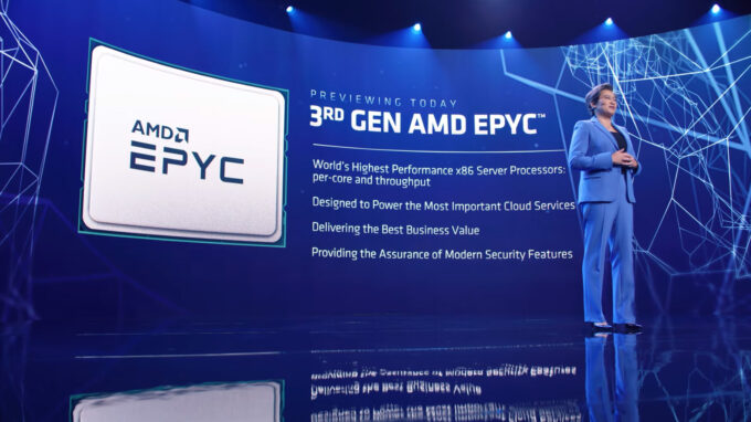 AMD 3rd-gen EPYC Processors At CES 2021