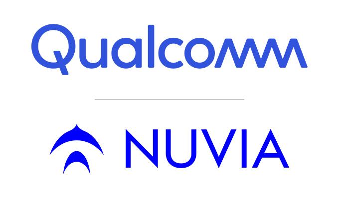 Qualcomm and Nuvia Logos