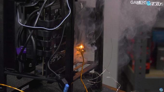 NZXT H1 Fire Hazard - Gamers Nexus