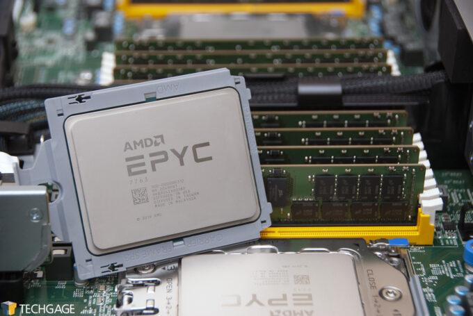 AMD EPYC 7763 64-core Data Center Processor