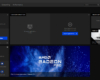 AMD Radeon Pro Software for Enterprise - Home Screen