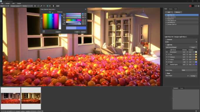 Autodesk 3ds Max 2022 - Light Mixer