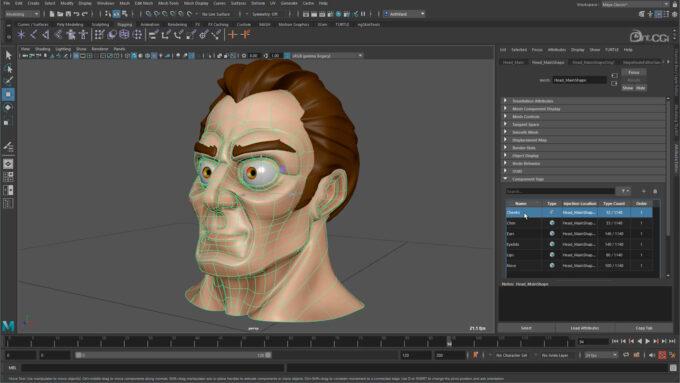 Autodesk Maya 2022 - Component Tags