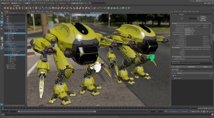 Autodesk Maya 2022 - USD Integration