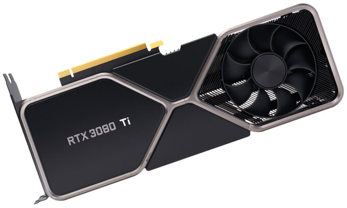 Fake NVIDIA GeForce RTX 3080 Ti