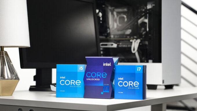 Intel Rocket Lake-S Desktop Packaging