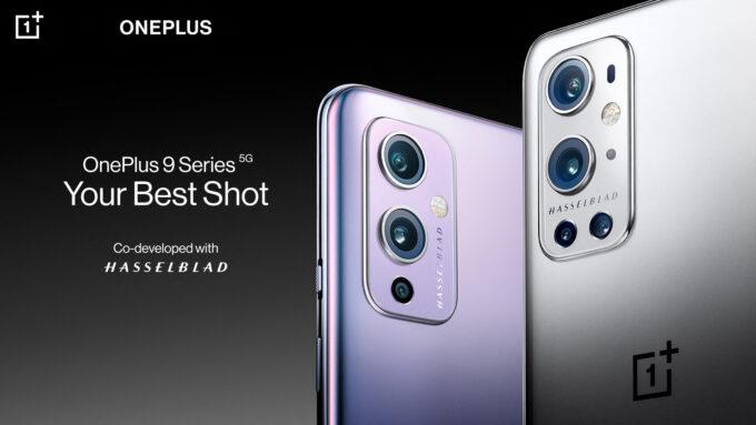 OnePlus 9 and 9 Pro Hasselblad Partnership