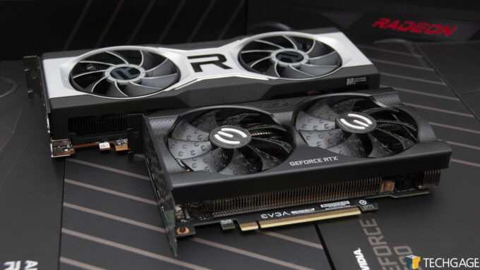 AMD Radeon RX 6700 XT and NVIDIA GeForce RTX 3060