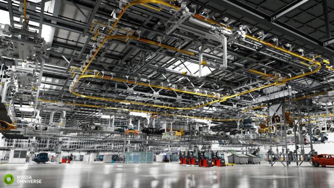 NVIDIA Omniverse - BMW AI Factory