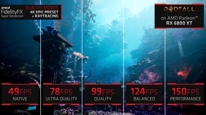 AMD FidelityFX Super Resolution Presets
