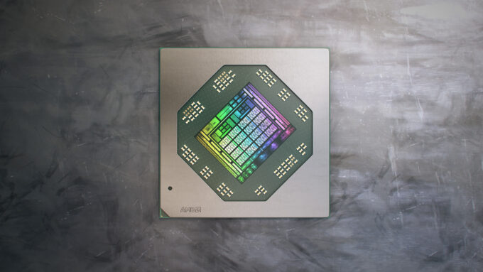 AMD Radeon Pro W6600M Mobile Workstation Graphics Processor