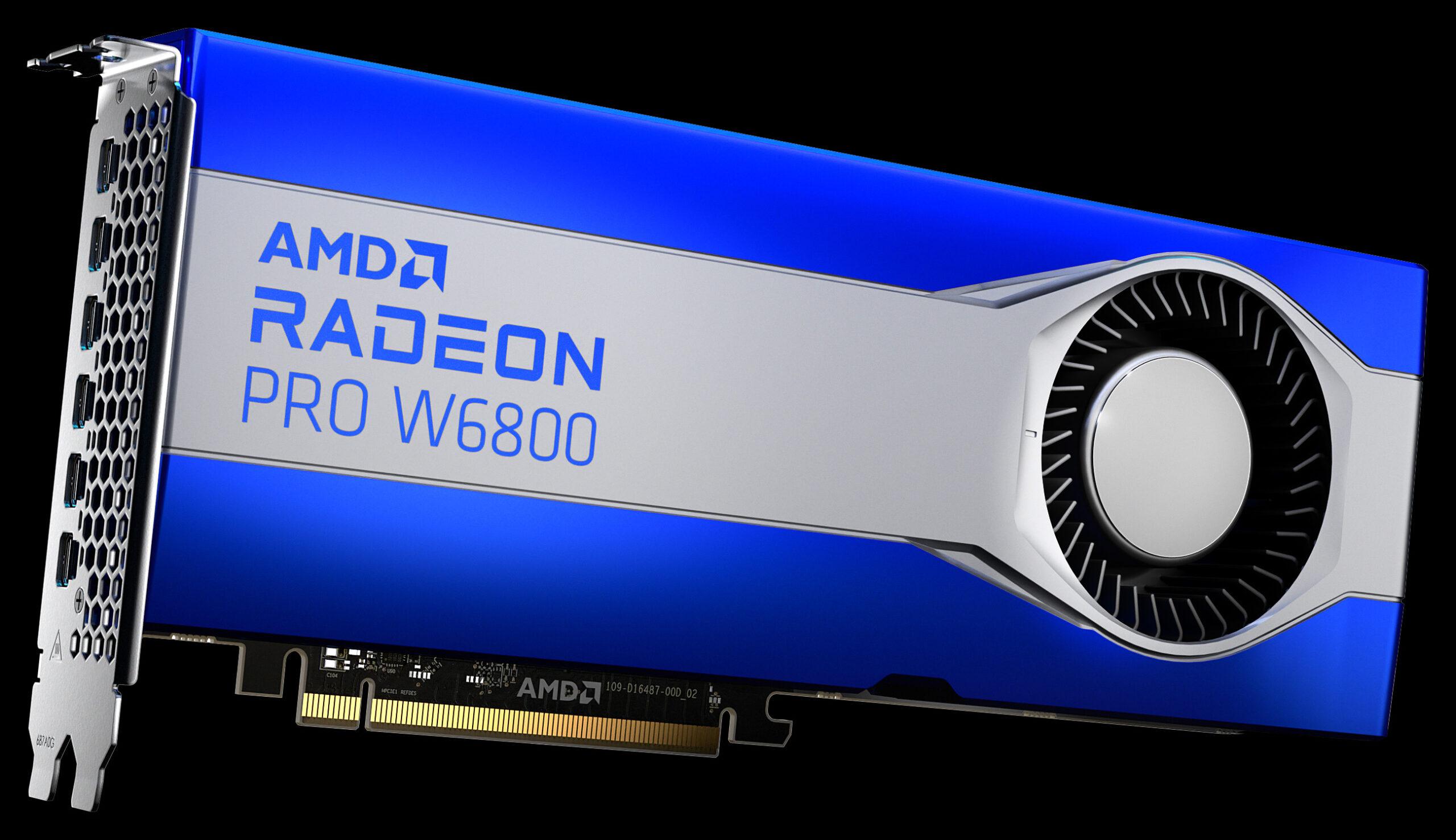AMD Radeon Pro W6800 Workstation Graphics Card