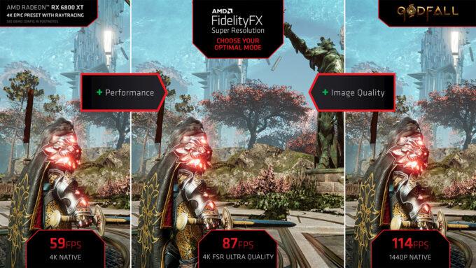 Godfall FidelityFX Super Resolution