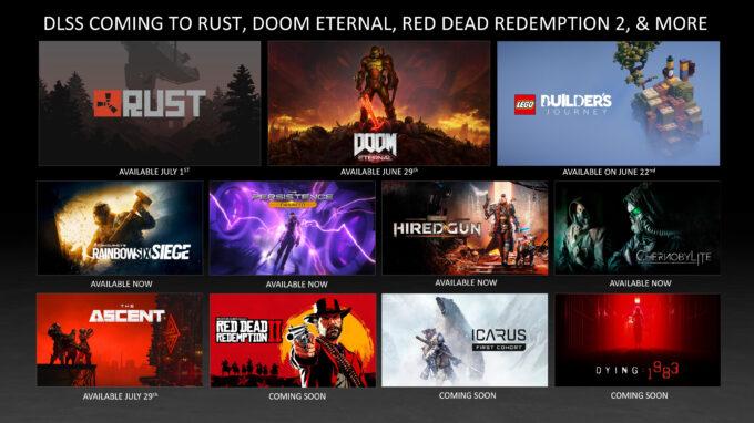 June 2021 NVIDIA RTX Games Update
