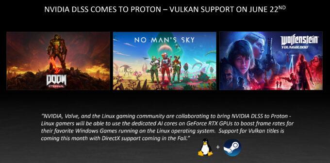 NVIDIA DLSS in Linux via Proton