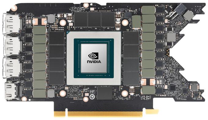 NVIDIA GeForce RTX 3080 Ti - Board Shot