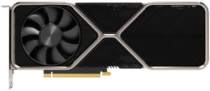 NVIDIA GeForce RTX 3080 Ti - Front Shot