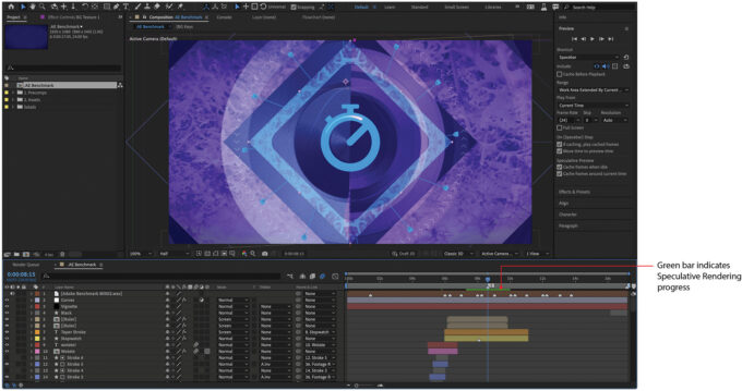 Adobe After Effects - Speculative Rendering