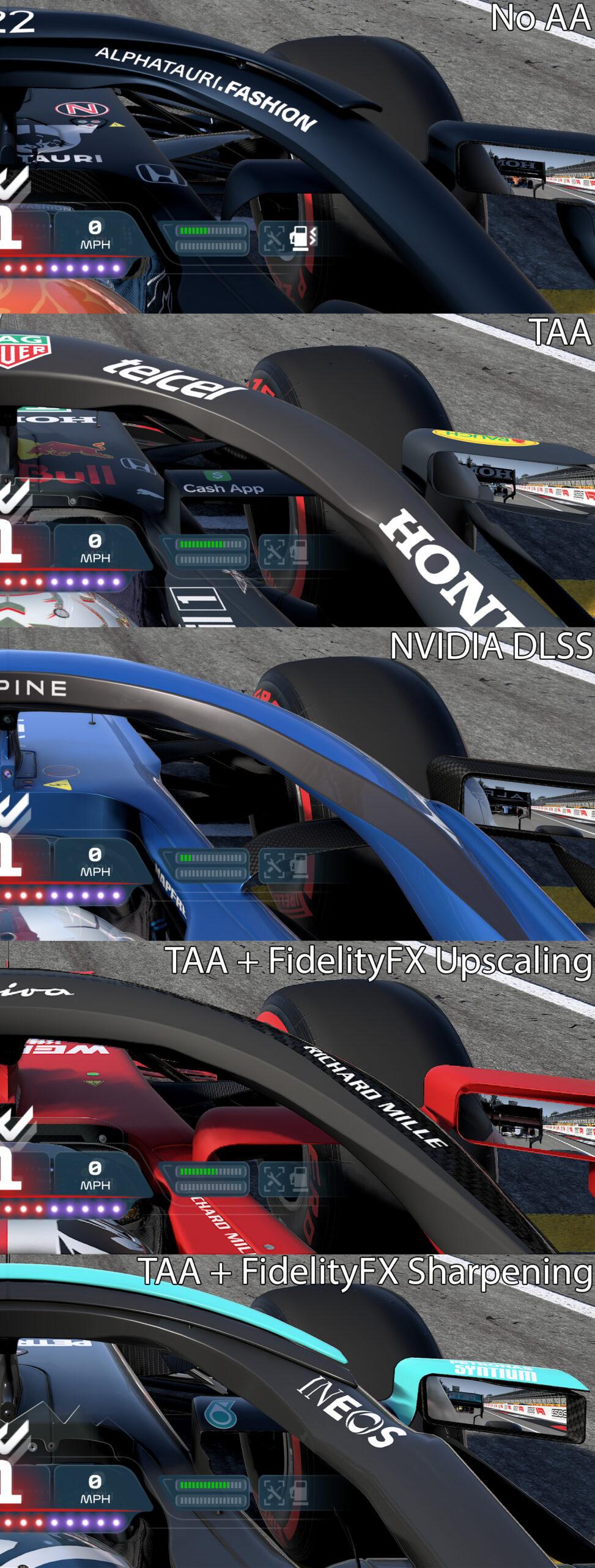 F1 2021 - Anti-aliasing Comparison (1)