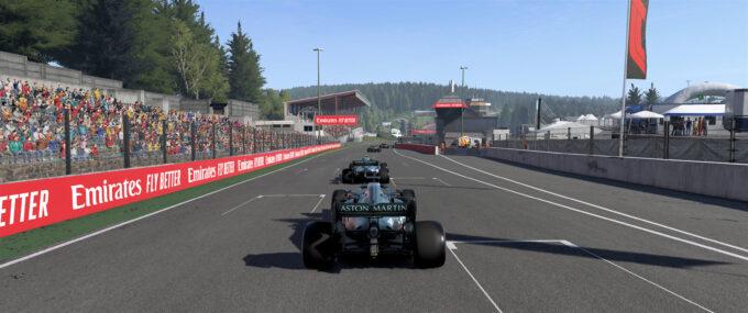F1 2021 - Spa