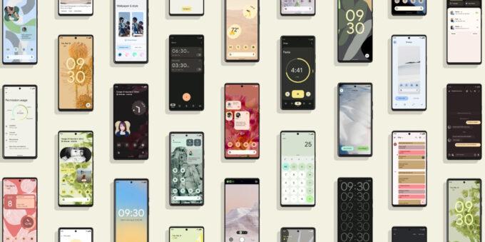 Google Pixel 6 - Material You