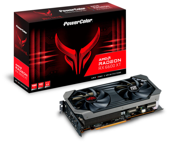 PowerColor Radeon RX 6600 XT Red Devil with Packaging