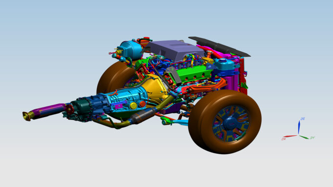 SPECviewperf - Siemens NX Engine Model