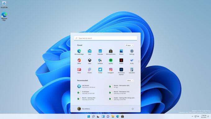 Windows 11 - Fresh Desktop