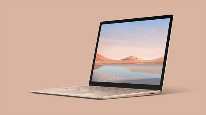 Microsoft Surface Laptop 4 - Sandstone