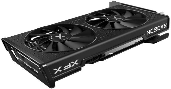 XFX SWFT 210 Radeon RX 6600 - Angled Shot